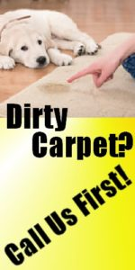 Dirty Carpet or Rug? Call us First!